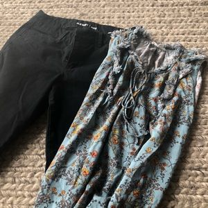 Other - Old navy pixie pants and a top